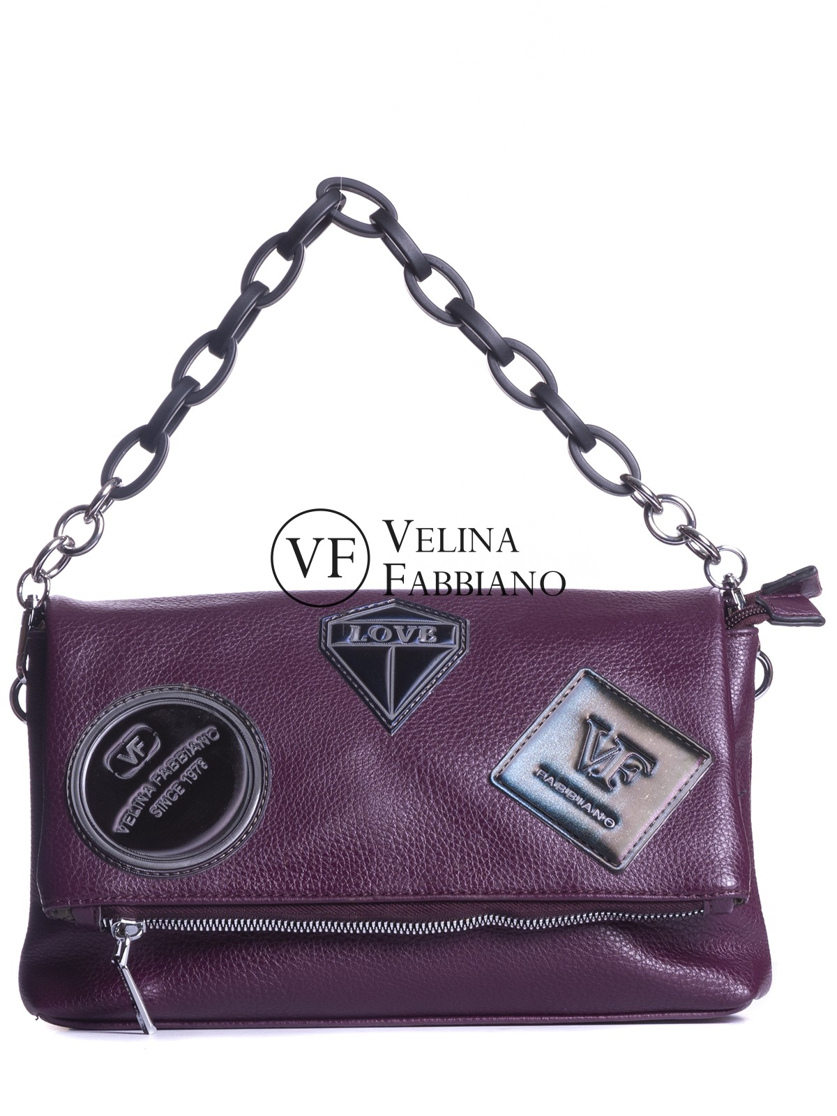 Кросс-боди Velina Fabbiano 591733-6-w-red